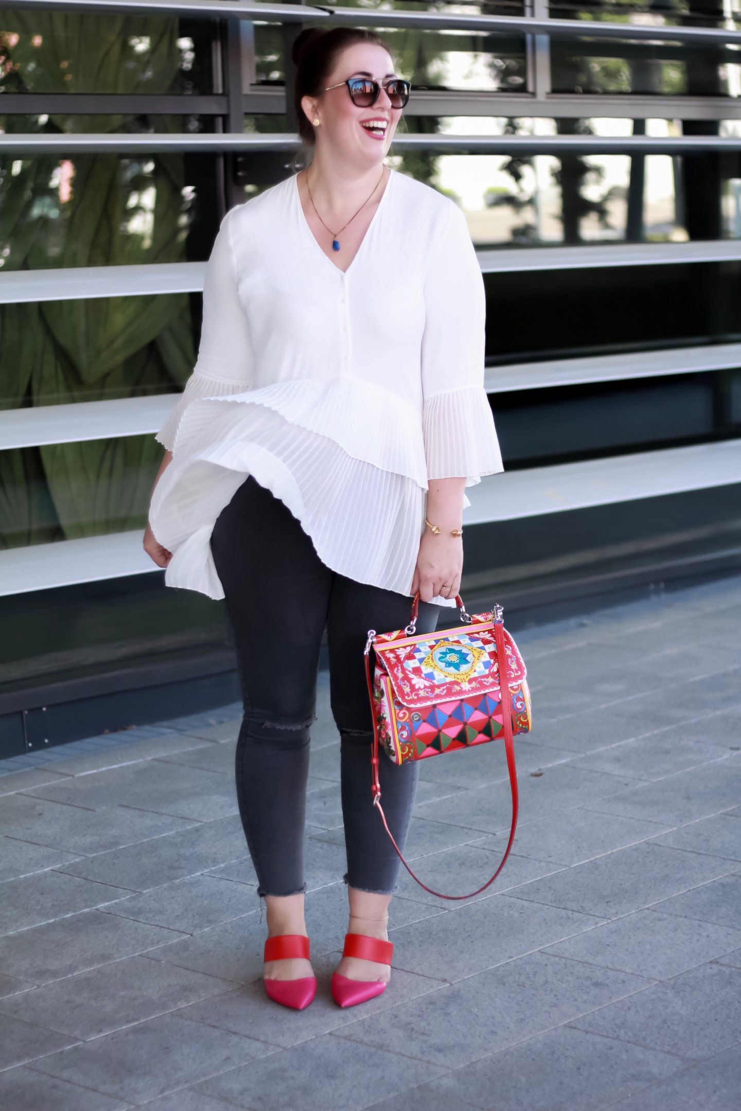 Dolce-Gabbana-Sicily-Mambo-Bag-Carretto-Plisseebluse-Zara-Shoes-of-Prey-Miss-Suzie-Loves-Susanne-Heidebach-Fashionblog