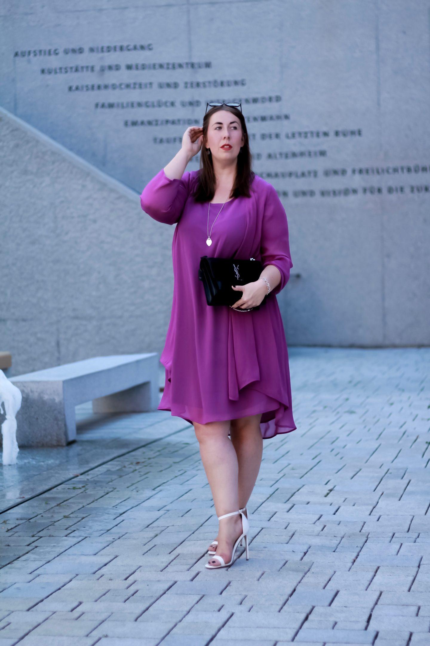 Miss-Suzie-Loves-Susanne-Heidebach-Radiant-Orchid-Zweiteiler-Yoek-YSL-Sunset-Hochzeitsgast-Outfit-Curvyblogger_Plussizeblogger
