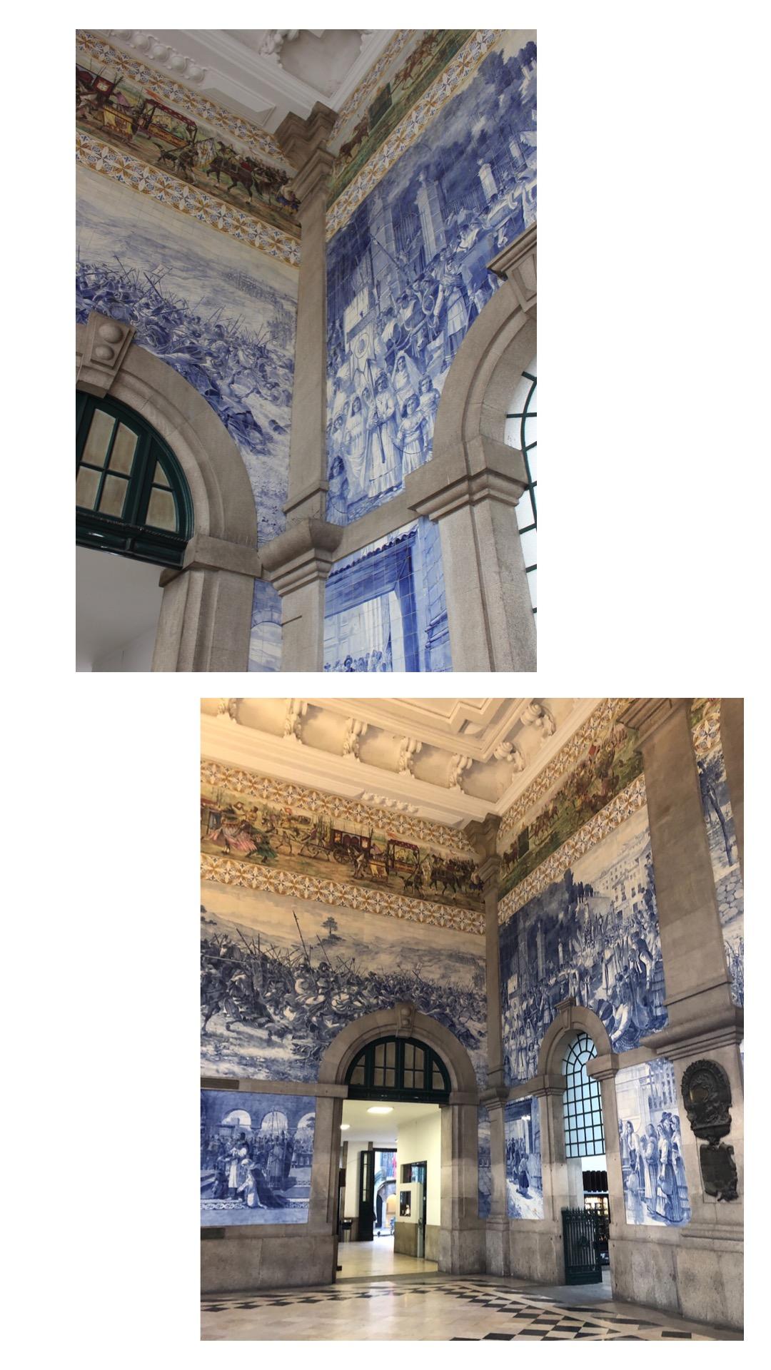 Porto-Reisebericht-Sightseeing-Tipps-Bahnhof-Sao-Bento-Azulejos-Wandkacheln-Miss-Suzie-Loves