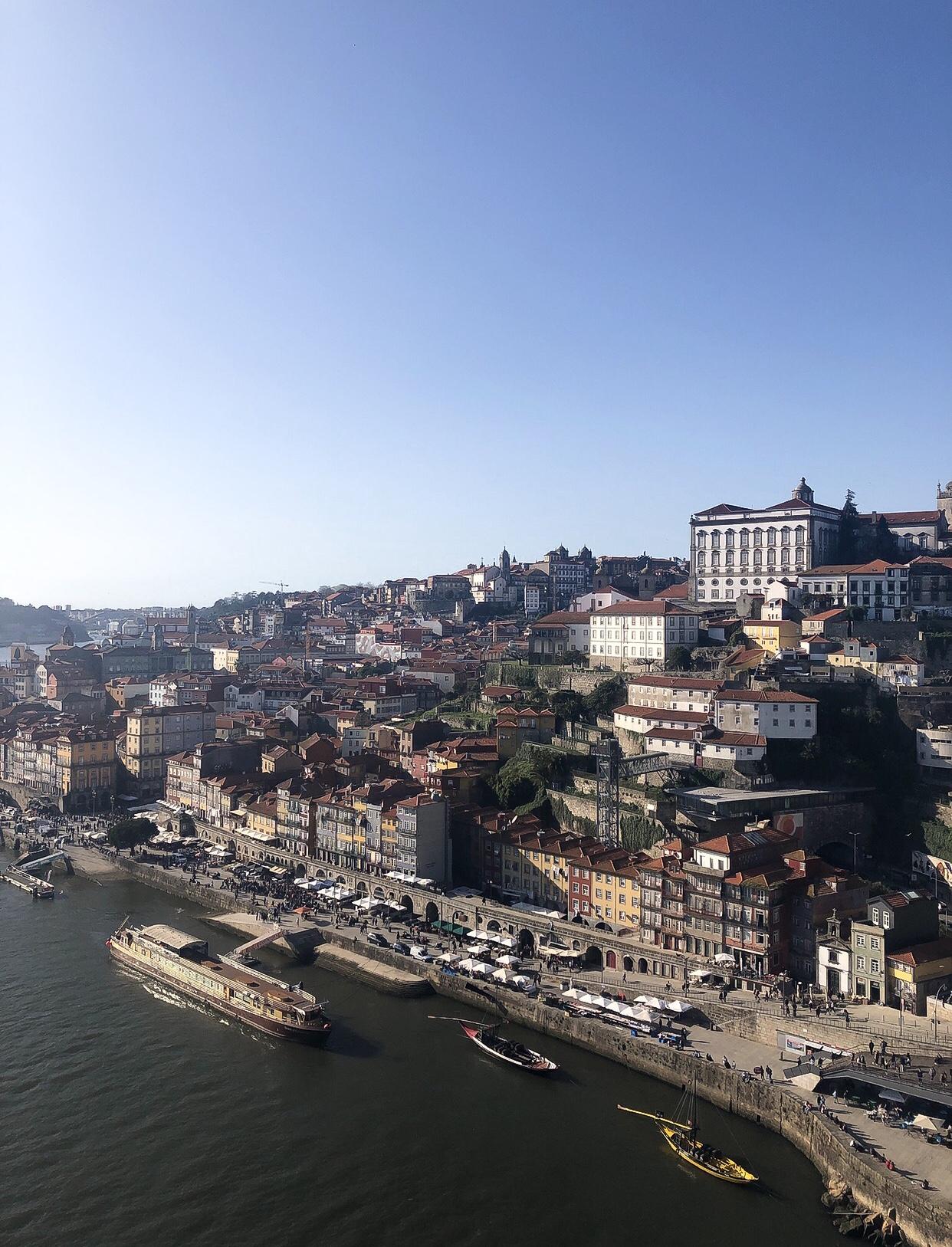 Porto-Reisebericht-Sightseeing-Tipps-Douro-Brücke-Ponte-Dom-Luis-Altstadt-Blick-Aussicht-Miss-Suzie-Loves