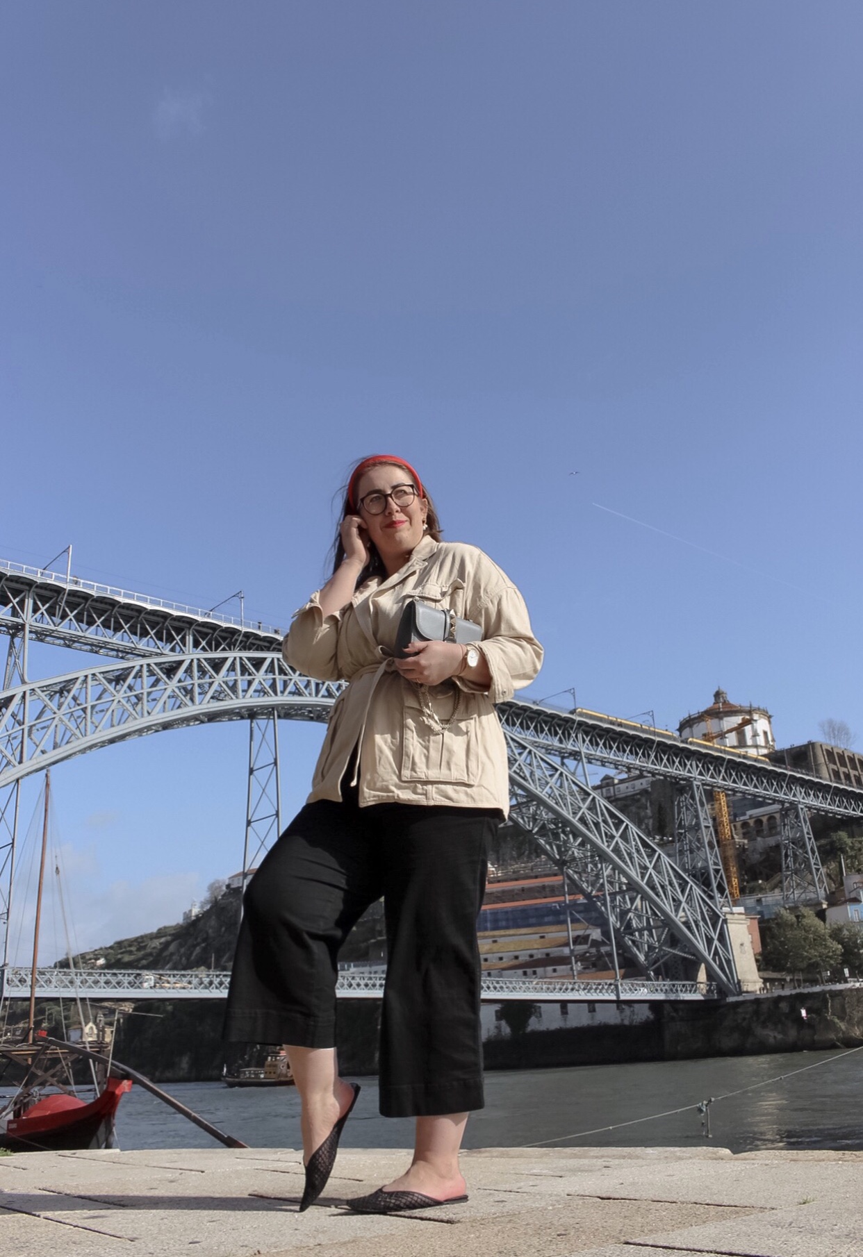 Porto-Reisebericht-Sightseeing-Tipps-Douro-Brücke-Ponte-Dom-Luis-Fotospot-Miss-Suzie-Loves