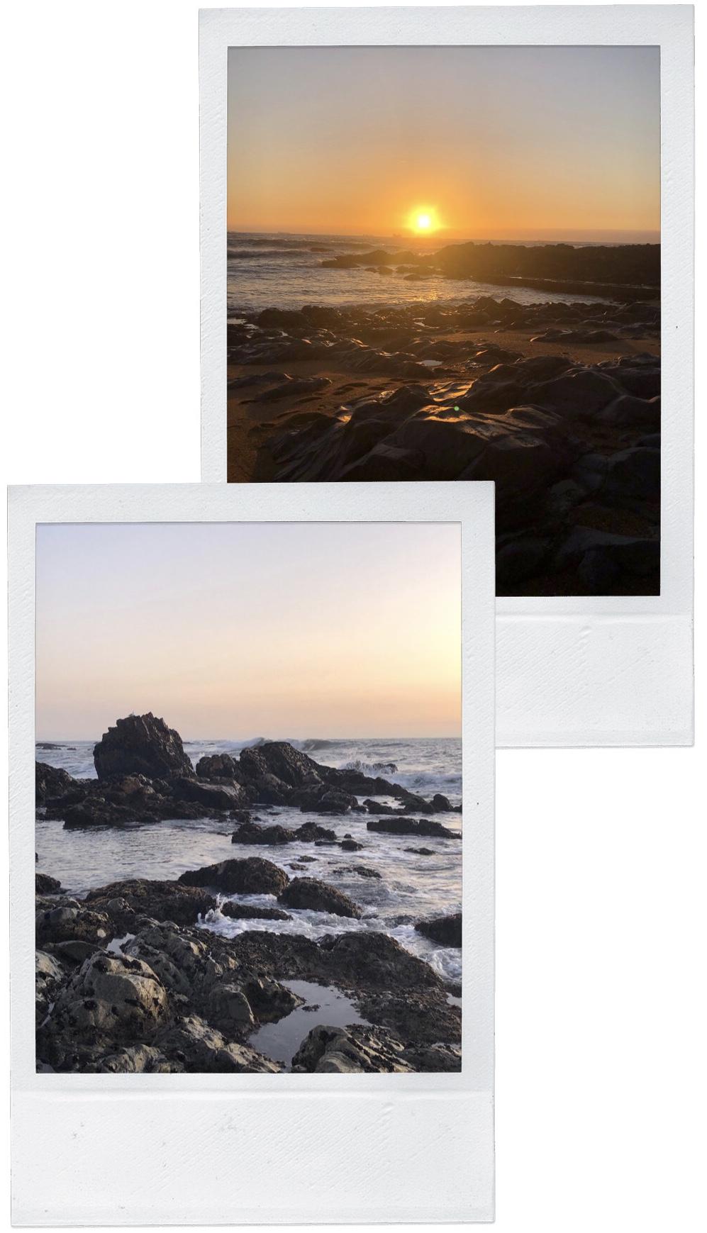 Porto-Reisebericht-Sightseeing-Tipps-Strand-Gondarem-Sonnenuntergang-Felsen-Miss-Suzie-Loves
